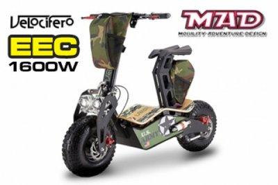 NEU! Velocifero MAD 1600W EEC E-Scooter